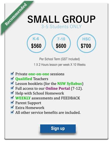 Sydney primary tutoring prices