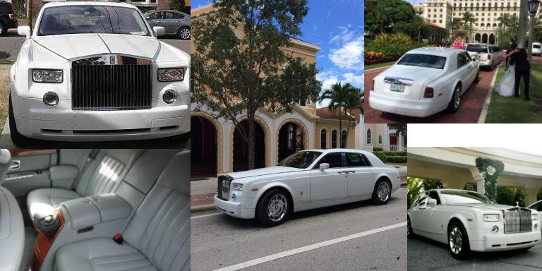 Wedding Limo Phantom Rolls Royce
