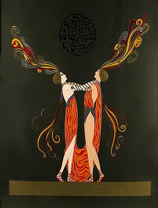 Erte Kiss of Fire