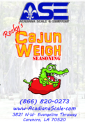 Cajun weigh seasoning