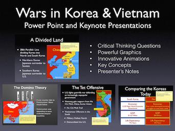 Wars In Korea and Vietnam History Presentation