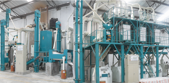 medium wheat flour milling machinery