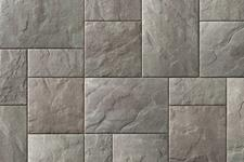 Unilock Concrete Paver Beacon Hill Flagstone Color New York Blend