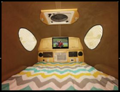 the mypod compact camper interior photo