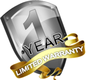 1 Year limited warranty copiers