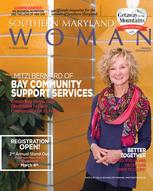 January Cover of Southern Maryland Woman Magazine featuring Bay-CSS Executive Director, Mitzi Bernard