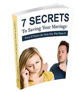 Secret to Save Marriage