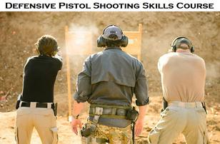 Defensive Pistol Shooting Skills Course