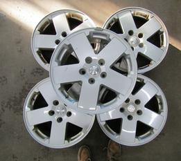 SET OF 5 Jeep Wrangler Rims