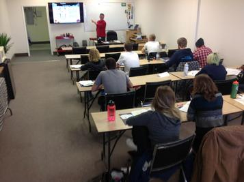 in classroom drivers education courses