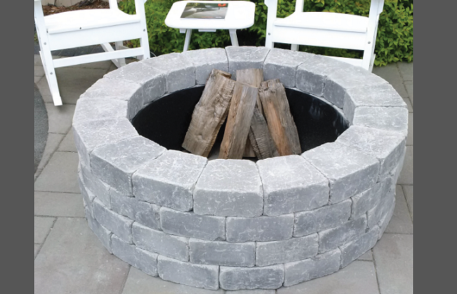 Ma Outdoor Fireplaces Fire Pit Backyard Kits
