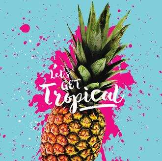 Let's Get Tropical ejuice available at The Ecig Flavourium Toronto vape shop