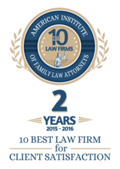 Top 10 Client Satisfaction Award, Family Law