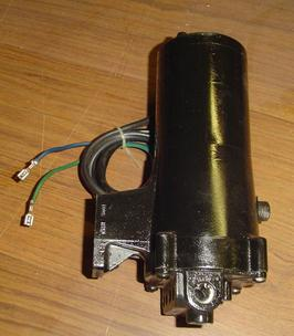 Used Force power trim motor and reservoir with valve body, 2 wire, F660541-2, -1, 660541