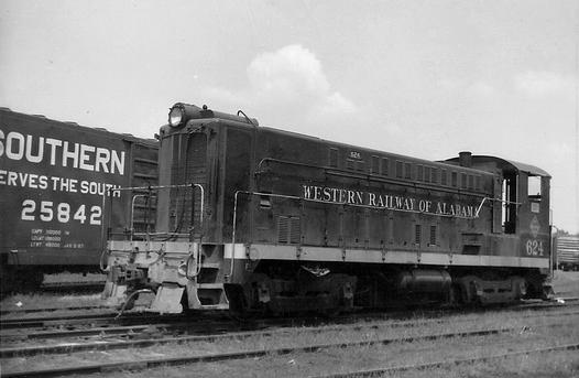 Western Railway of Alabama No. 624.
