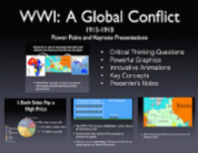WWI A Global Conflict PowerPoint