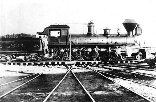 Central Pacific Railroad 4-10-0 No. 237, El Gobernador.