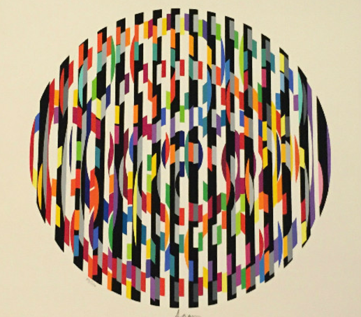 Yaacov Agam Message of Peace