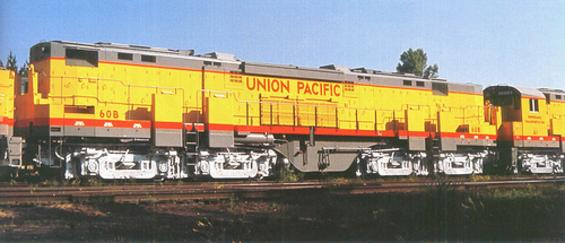 Union Pacific Railroad 60B, the only Century 855B built.