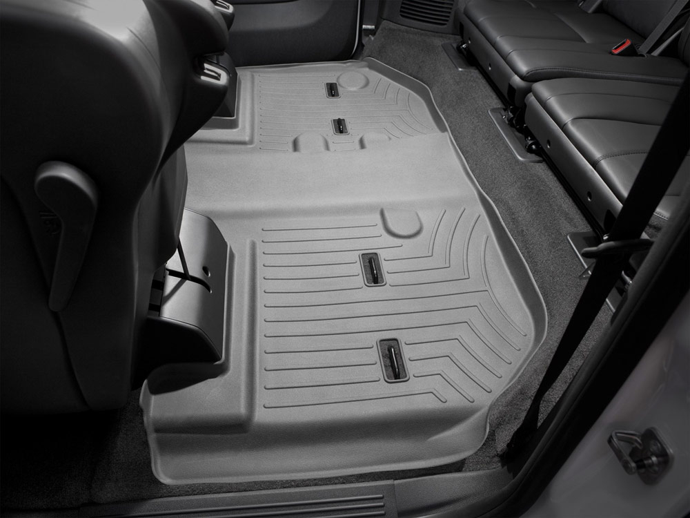 row weathertech liners mat on molded mpn floor digitalfit mats gray car