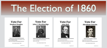 The Election of 1860 Civil War Simulation