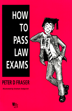 coolcartoons.net How to Pass Law Exams book cover illustration