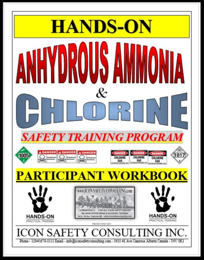 Anhdrous Ammonia and Chlorine Training - ICON SAFETY CONSULTING INC.