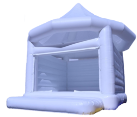 White Wedding Bounce House Rentals | All White Bounce house Rentals