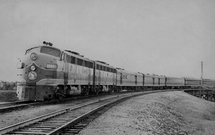 Great Northern's Winnipeg Limited