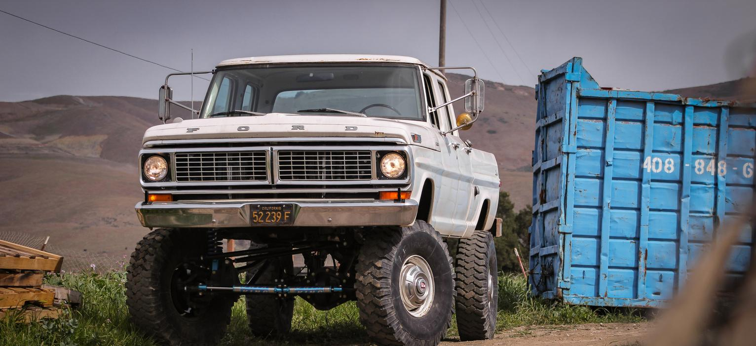 For Sale 1970 Ford Crew Cab F 250