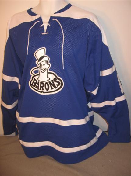 Cleveland Barons 1965 vintage hockey jersey 151d3f09445