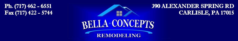 Bella Concepts Remodeling Of Carlisle Pennsylvania - Bathroom remodeling mechanicsburg pa