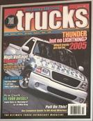 Car magazine showing Joes Custom Audio car in the front cover