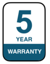 5 Year Warranty on LED Tubes