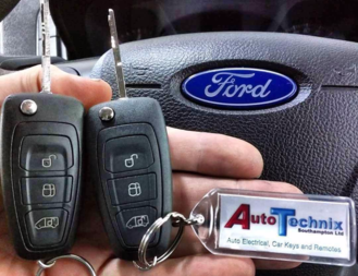 Ford Transit Remote Flip Key