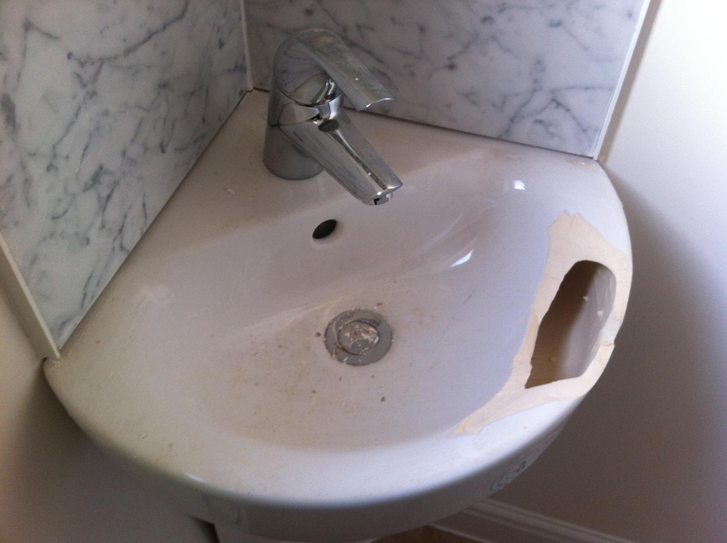 Porcelain Repairs, Basins, Toilets, Cisterns Chip & Crack