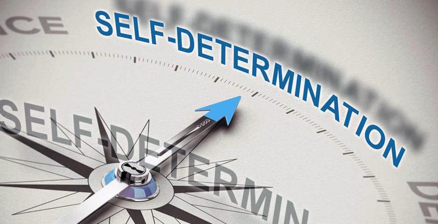 image of self determination