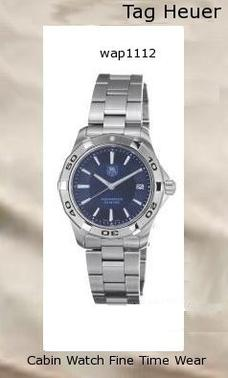 Watch Information Brand, Seller, or Collection Name TAG Heuer Model number WAP1112.BA0831 Part Number WAP1112.BA0831 Model Year 2011 Item Shape Round Dial window material type Anti reflective sapphire Display Type Analog Clasp fold-over-clasp-with-double-push-button Case material Stainless steel Case diameter 40 millimeters Case Thickness 10 millimeters Band Material Stainless steel Band length Men's Standard Band width 20 millimeters Band Color Silver Dial color Blue Bezel material Stainless steel Bezel function Unidirectional Calendar Date Special features Water-Resistant Item weight 1 Pounds Movement Quartz Water resistant depth 990 Feet,tag heuer