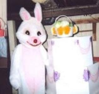 Easter Bunny Chicago: same day $125. Safe home delivery