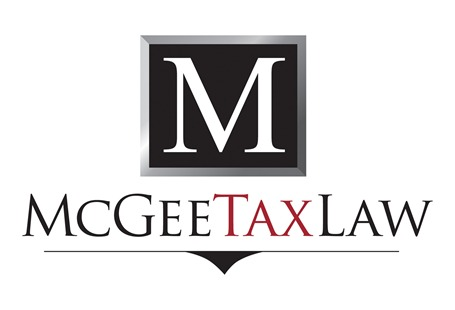 mcgee tax law logo