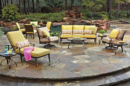Browse OWLee Outdoor Furniture near Telluride CO on Living Accents Cortland Patio Set id=19987