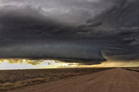 Colorado Tornado Warned Supercell