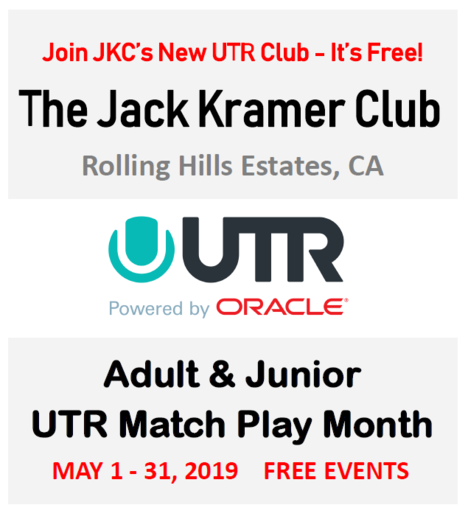 Join JKC's UTR Club - It's Free!