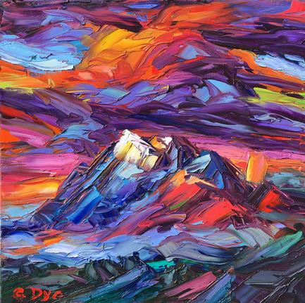 The Natural Accents Gallery of Taos - Featuring Artist Greg Dye, Oils