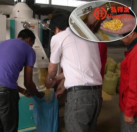 How to calculate the profit of the maize milling machine?