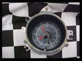1969 Ford Mustang Clock