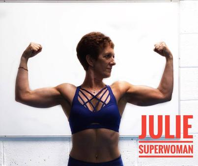 Julie Carey fitness body by finn glenn active woman body builder transformation weight loss kenmare co kerry ireland personal trainer strength real world combat fitness gym