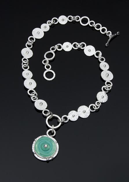 N-102 Ocean Amulet necklace - Carol Holaday