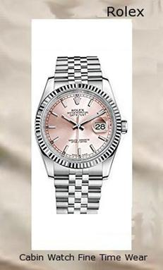 Product specifications Watch Information Brand, Seller, or Collection Name Rolex Datejust 36 Model number 116234 Part Number Model 116234 PRJ Item Shape Round Dial window material type Anti reflective sapphire Display Type Analog Clasp Fold over clasp Case material Stainless steel Case diameter 36 millimeters Band Material Stainless steel Band Color steel Dial color Pink Bezel material White gold Calendar Date Special features Monobloc middle case, screw-down case back and winding crown;, Screw-down crown, Twinlock double waterproofness system;, Winding - Bidirectional self-winding via Perpetual rotor;, Officially certified Swiss chronometer (COSC);, Waterproof to 100 metres / 330 feet. Movement Automatic self wind Water resistant depth 100 Meters