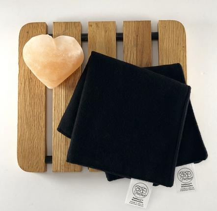 Soft Dark washcloth make-up eraser